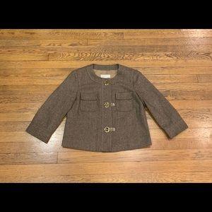 Michael Kors Women's Tweed Blazer, Size Medium